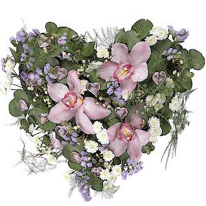"""Цветы на 14 февраля - Композиция """"Единственной"""""""