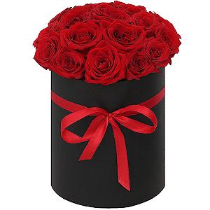 """Цветы на 14 февраля - Композиция """"Страсть"""""""