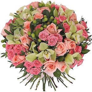 """Цветы на 14 февраля - Букет """"Дамский угодник"""""""
