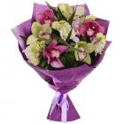 Букет из 7 орхидей
