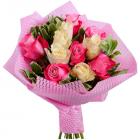 Букет из 11 кенийских роз